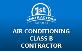 Air Conditioning Class B Contractor