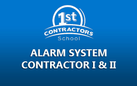 Alarm System Contractor I & II